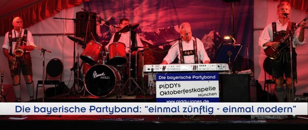 Musik und Bands für jede Gelegenheit - Geburtstagsfeier - Firmenfeste - Oktoberfest - Party