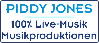 Piddy Jones Musikproduktionen Bands für jede Gelegenheit